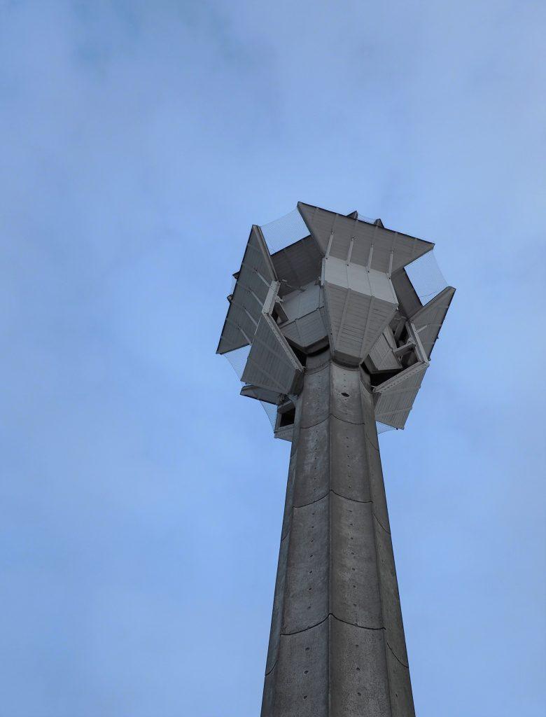 Opstandelseskirkens specielle klokketårn